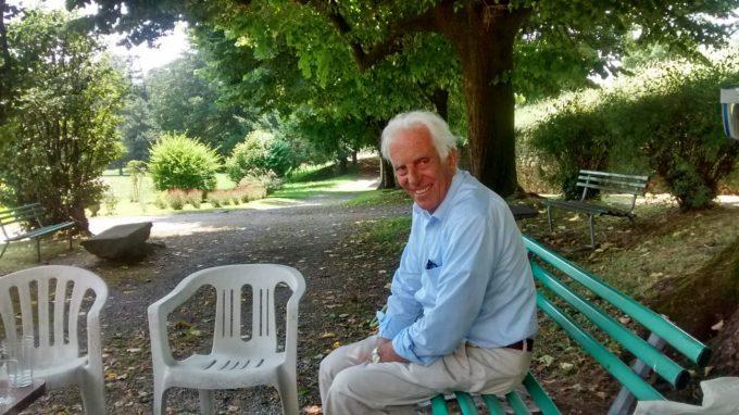 Gege Ferrario, anima dell'evento e organizzatore insieme a Ente e Fondazione Baden