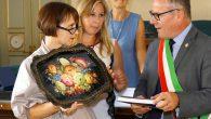 13ma edizione del festival internazionale di cori giovanili g. zelioli. incontro del sindaco v.brivio con i direttori cori - lecco 4 luglio 2018 -