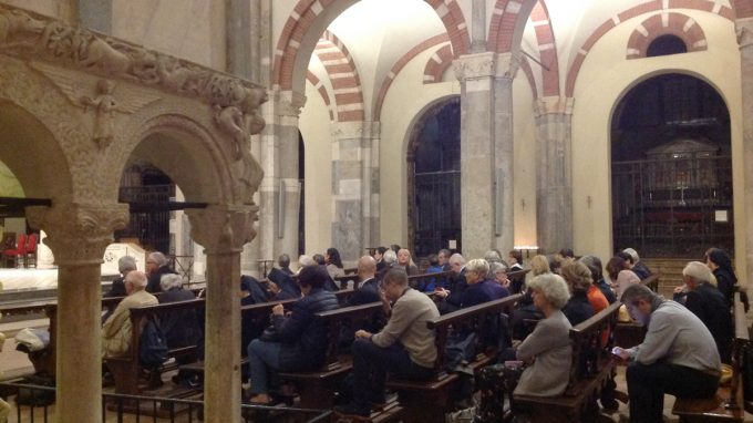 Monsignor Mendonça: Basilica S. Ambrogio