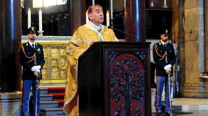 Messa in Sant Ambrogio, per il Santo Pratono della Polizia, con Monsignor Mario Delpini