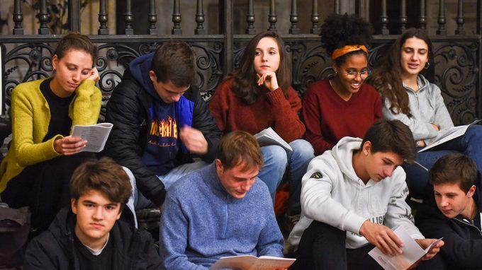 giovani esercizi spirituali sant'ambrogio