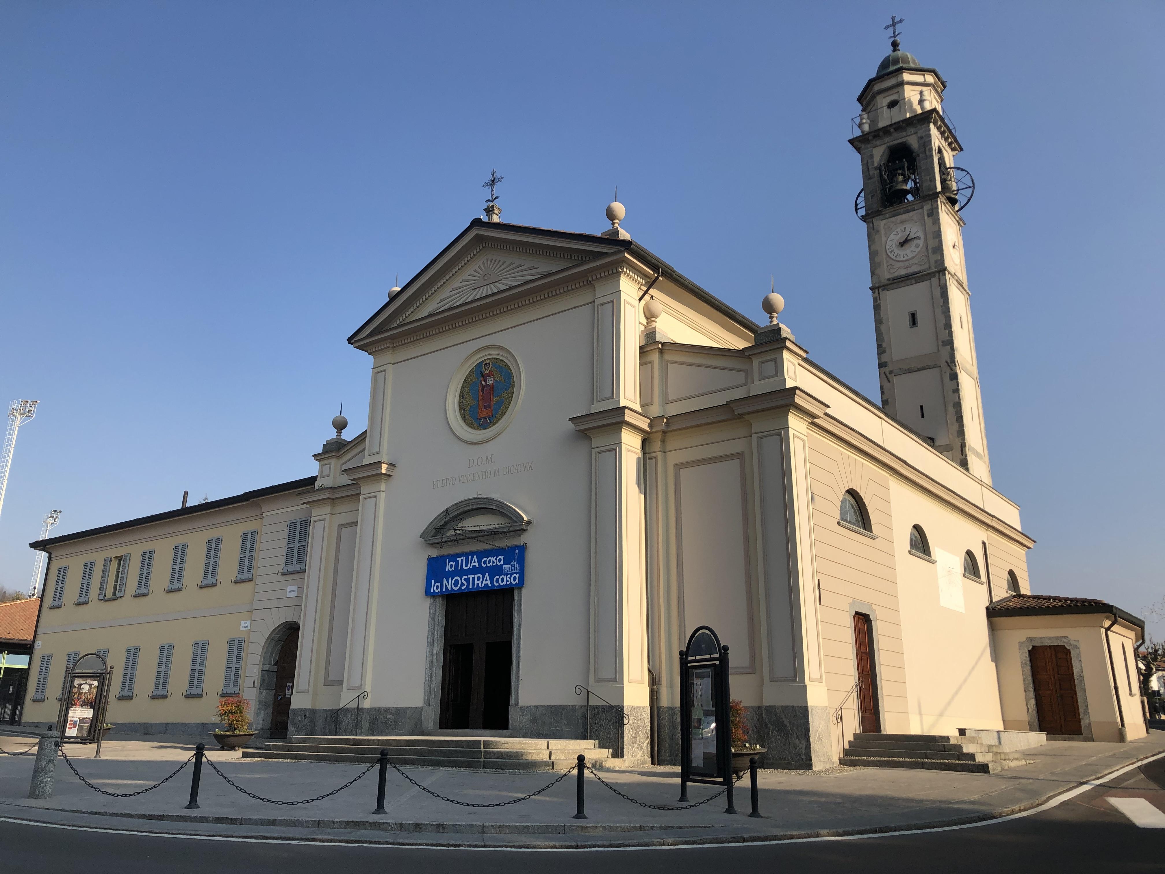 chiesa parrocchiale S. Vincenzo Martire di Cremnago