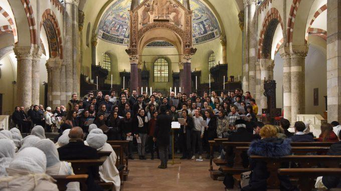 preghiera ecumenica giovani Sant'Ambrogio