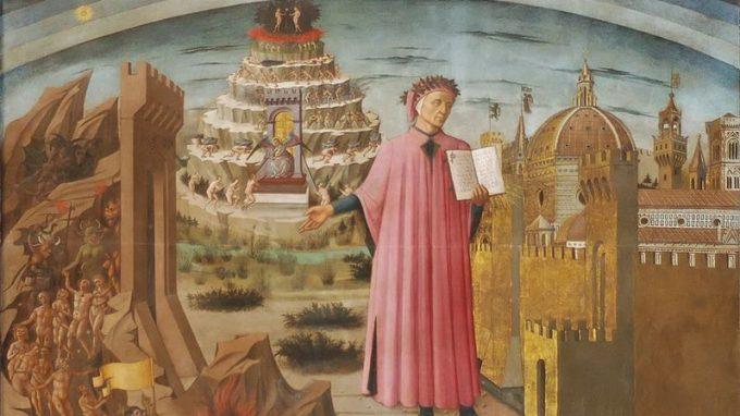 Dante e il suo poema_Domenico di Michelino
