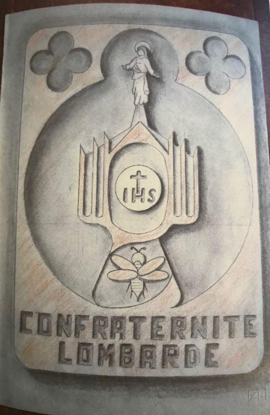 Formella Confraternite Lombardia