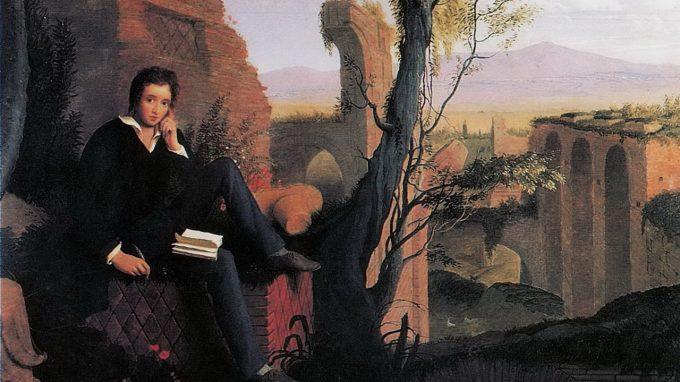 J. Severn, Shelley scrive il Prometeo Liberato