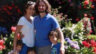 Livia e Luca Frasson con i figli Nicolò, Caterina e Paolo
