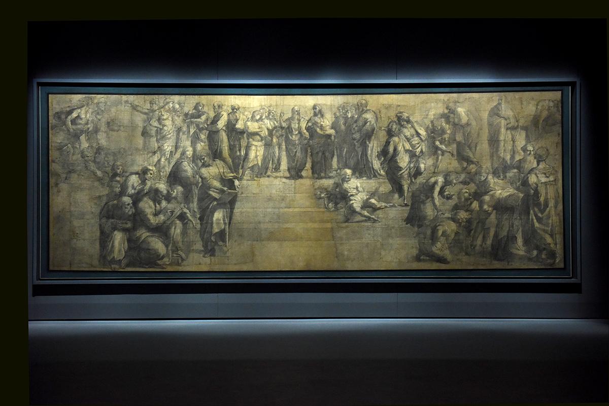cartone di Raffaello Ambrosiana