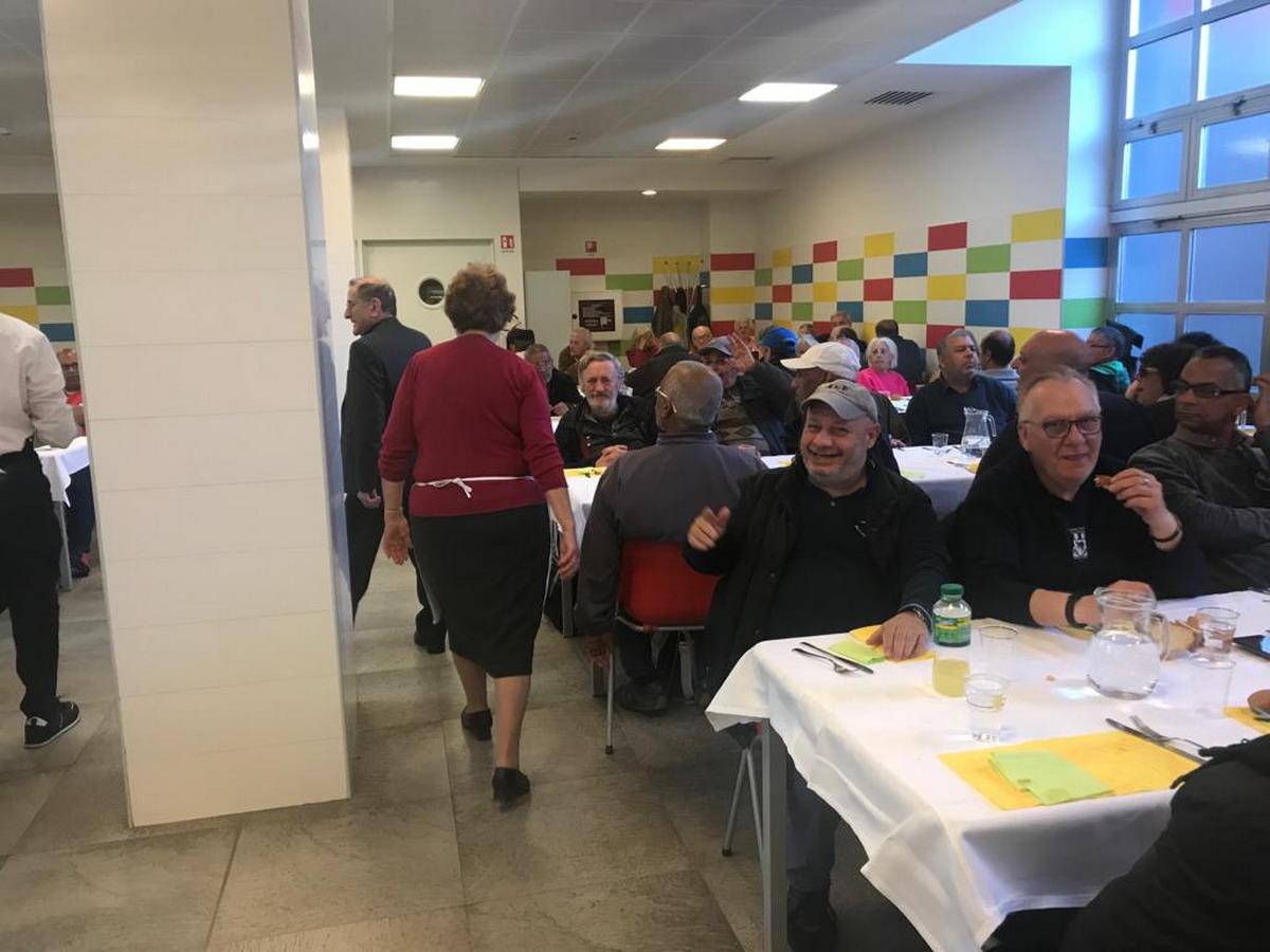 pranzo pasqua opera cardinal ferrari AAEE