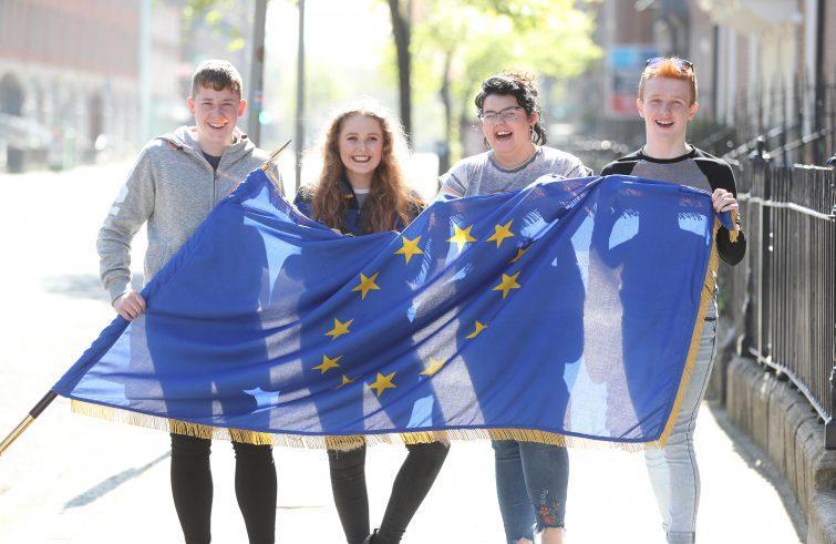 Bandiera Giovani Europa