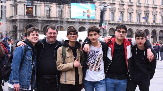 animatori oratorio piazza duomo (E)