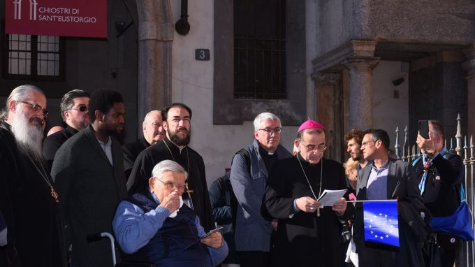 corteo chiese cristiane europa 2019 _AJPE