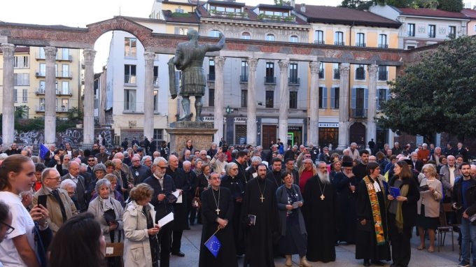 corteo chiese cristiane europa 2019 _AJPF