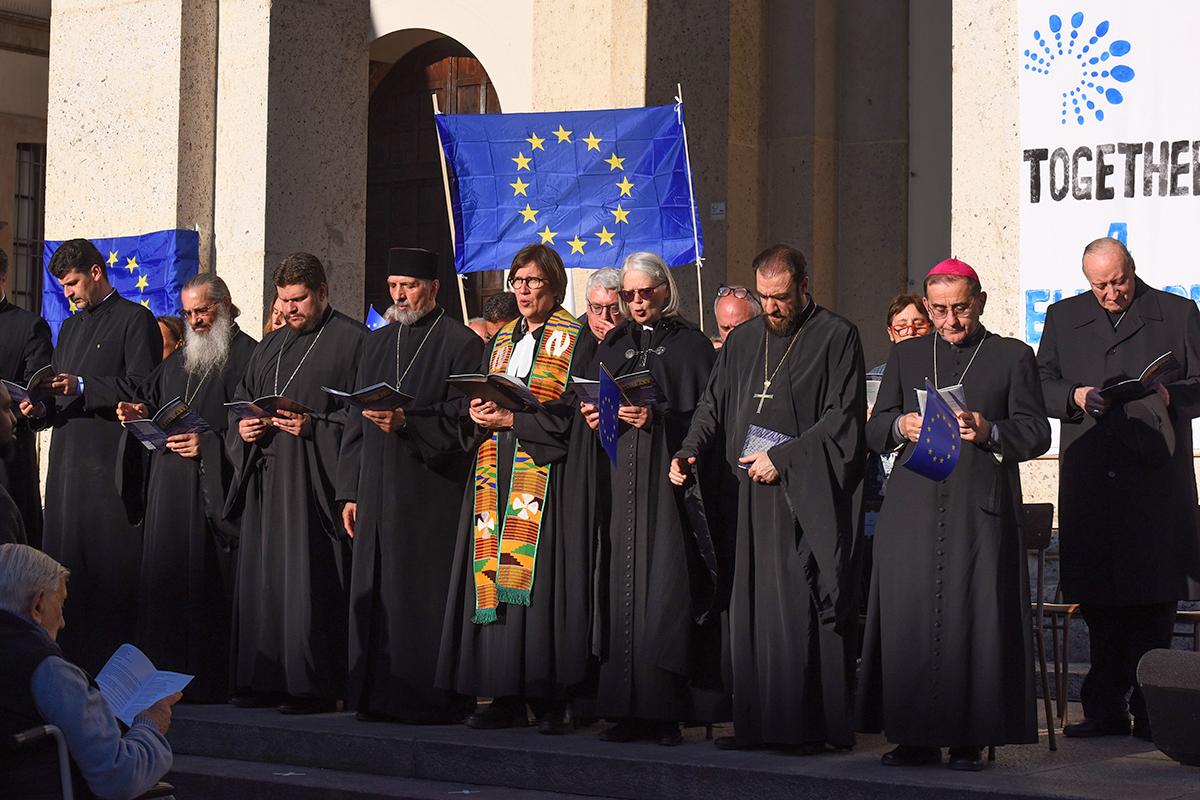 corteo chiese cristiane europa 2019