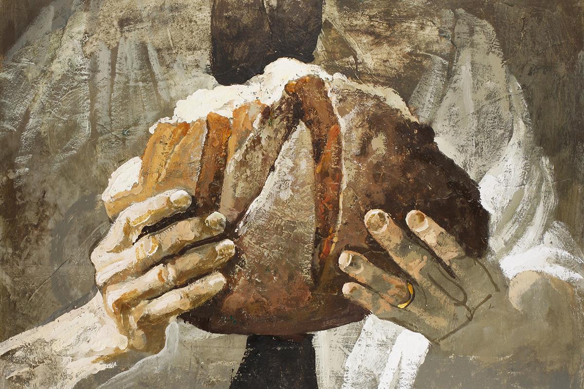 «Pane» di Safet Zec