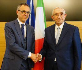 Giovanni Fosti e Giuseppe Guzzetti