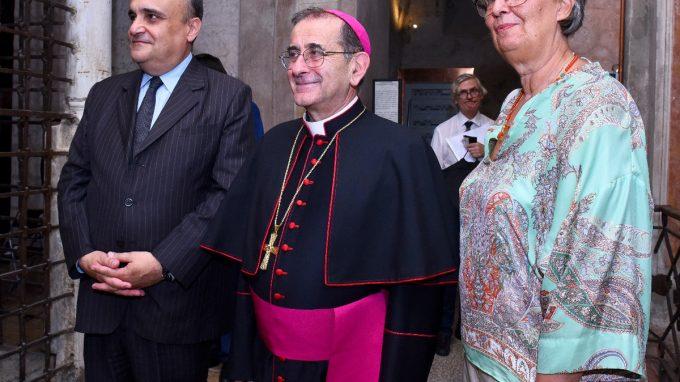 Inaugurazione cripta San Sepolcro