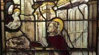 L'apparizione della Vergine al giovane santo -