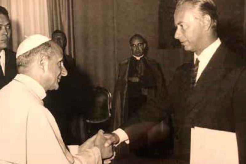 Paolo VI e Luciano Chailly
