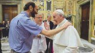 Padre Dario Bossi con papa Francesco