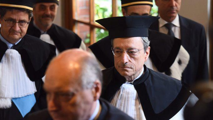 honoris causa Mario Draghi