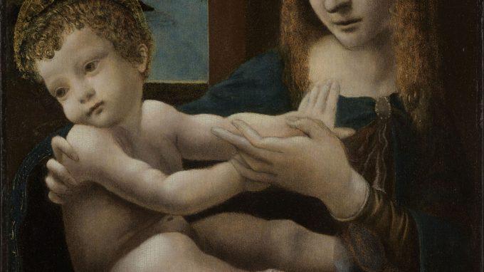 11. Isola Bella Palazzo Borromeo Scuola Lombarda Madonna con il Bambino