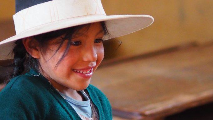 Una bimba boliviana