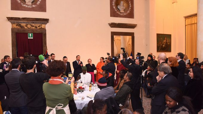 Cena solidale Palazzo Reale