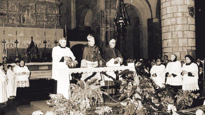 La visita nella Basilica di Sant'Eustorgio, luogo del battesimo dei primi cristiani e tradizionalmente prima tappa dell'ingresso dei nuovi Arcivescovi
