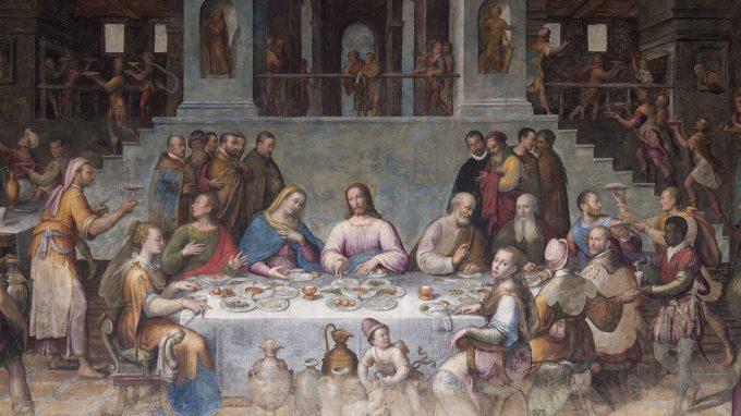 Le Nozze di Cana di Luca Longhi 1580, Cropped