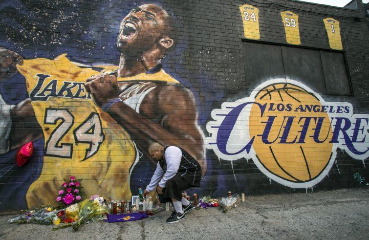 preghiere per Kobe Bryant
