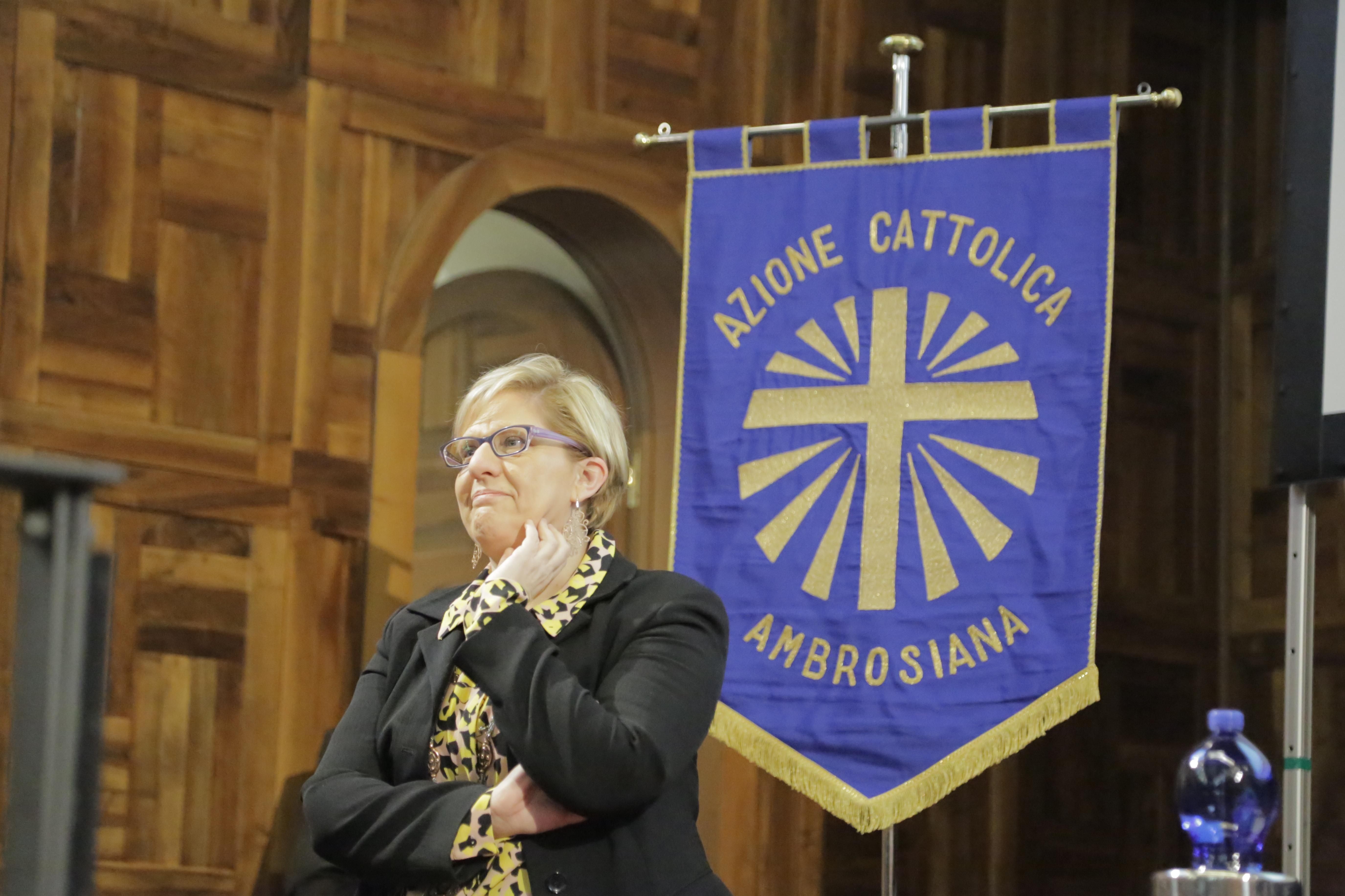 Silvia Landra bandiera Ac assemblea Cropped
