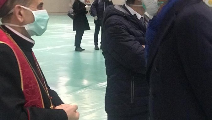 delpini fiera milano city ospedale coronavirus -WAAABH