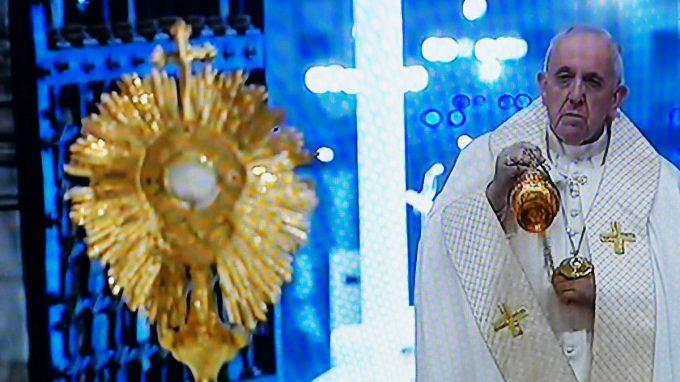 papa preghiera per umanita coronavirus WAAABR