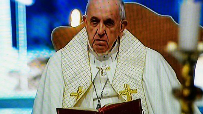 papa preghiera per umanita coronavirus WAAABZ