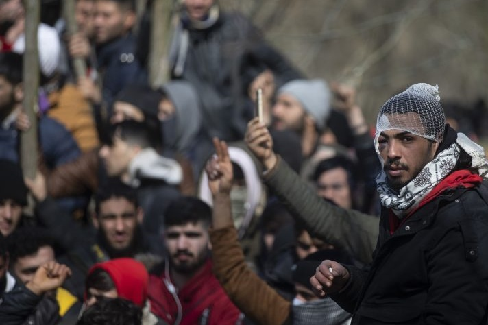 profughi siriani in Grecia
