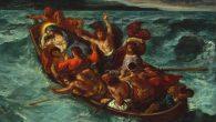 Delacroix, Gesù dorme nella barca in tempesta Cropped