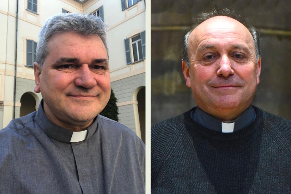 Don Giuseppe Vegezzi e don Luca Raimondi