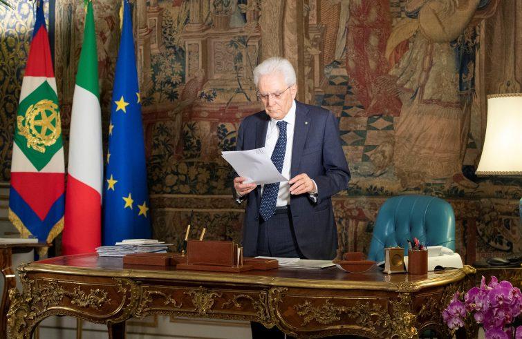 Foto Ufficio per la Stampa e la Comunicazione della Presidenza della Repubblica