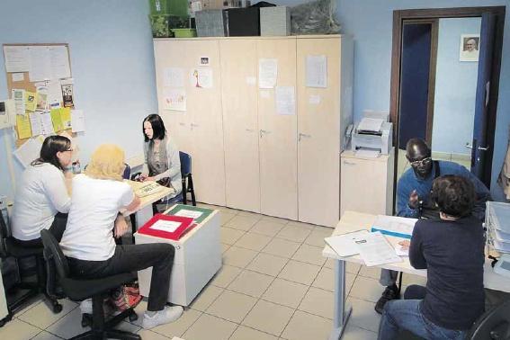 Un Centro d'ascolto Caritas