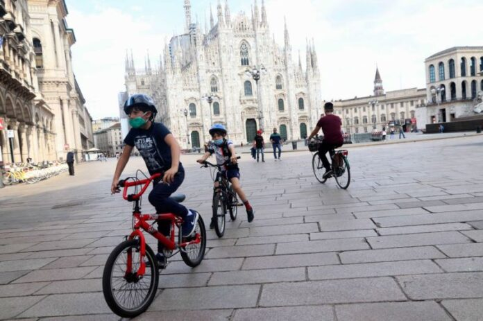 Ragazzi in Duomo