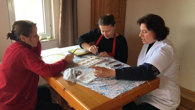 corso di iconografia a donne turche