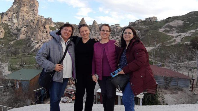 in Cappadocia con cristiane turche
