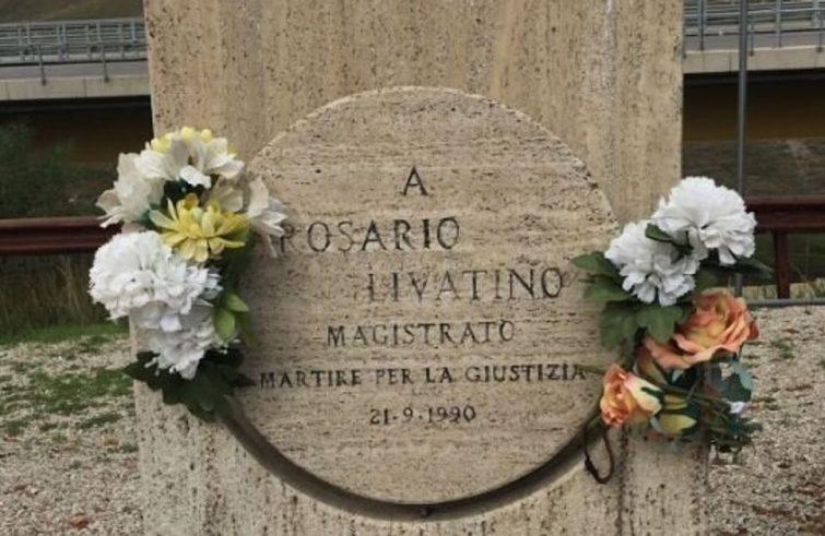 La tomba di Rosario Livatino