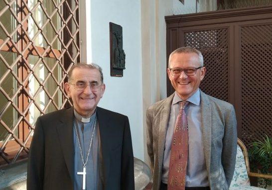 L'Arcivescovo e Gianni Borsa