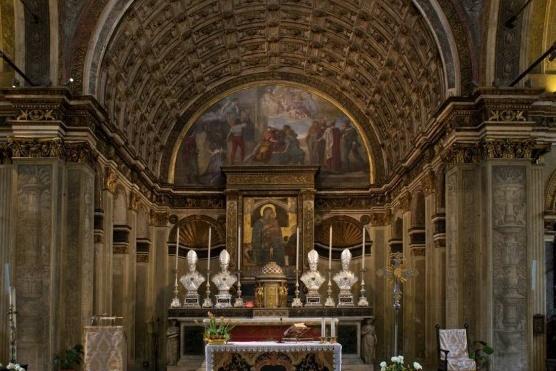 La chiesa di San Satiro a Milano