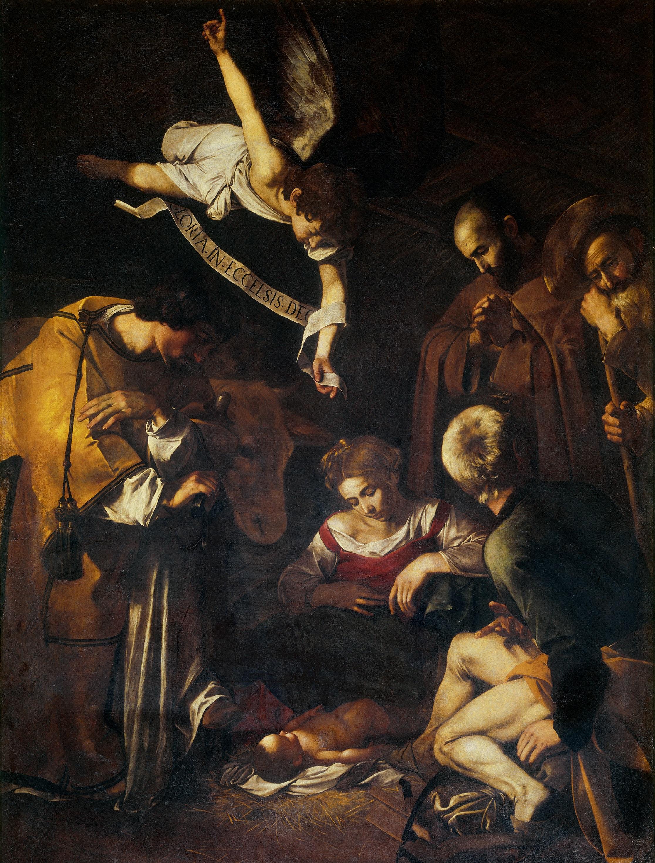 Caravaggio-Nativity(1600) (1)