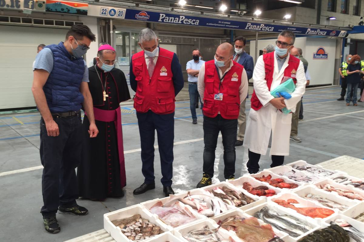 Foto: Mons. Delpini durante una precedente visita