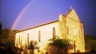 chiesa del Buon Pastore a Krajen, dopo un violento temporale