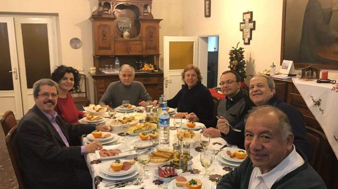 4 pranzo messicano in episcopo a conclusione del Consiglio pastorale diocesano ad Istanbul